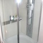 Badkamer douche verbouwing