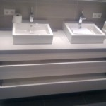 Badkamer kastje verbouwing
