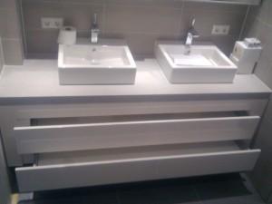Kastje Voor In De Badkamer.Badkamer Kastje Van Der Veld Bouw