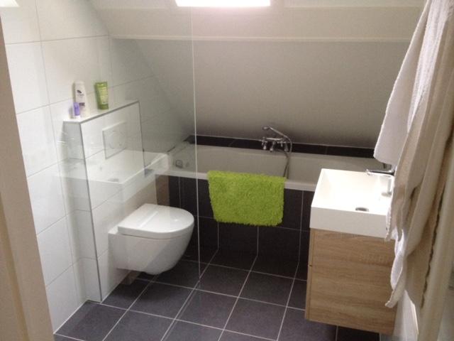 Badkamer wc en bad van der veld bouw